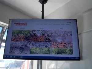 Labirintos Sazonais inspirou alunos dos oitavos anos